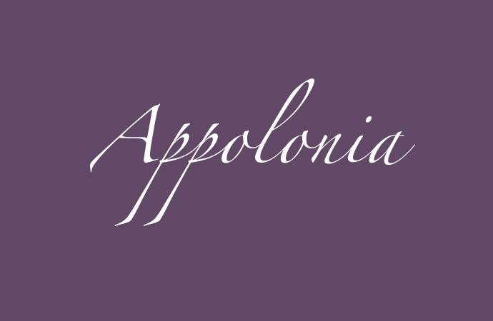 Bedeutung des Namen Appolonia