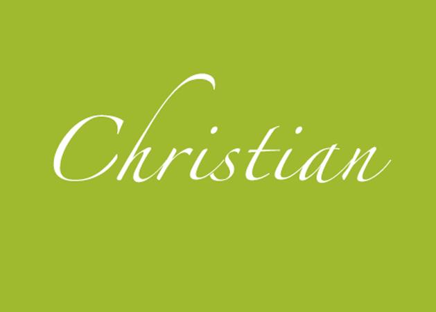 Woher kommt der Name Christian und welche Bedeutung hat er