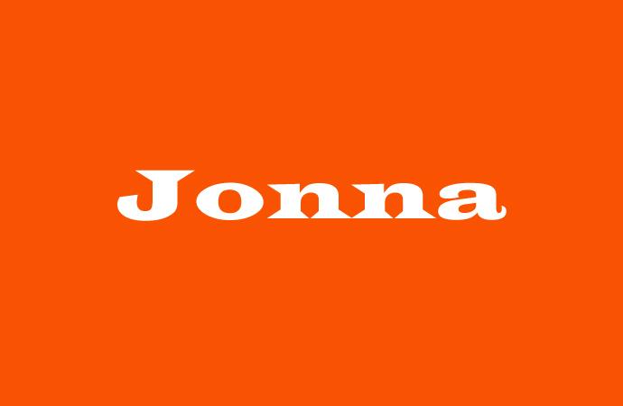 Herkunft und Bedeutung des Vornamen Jonna