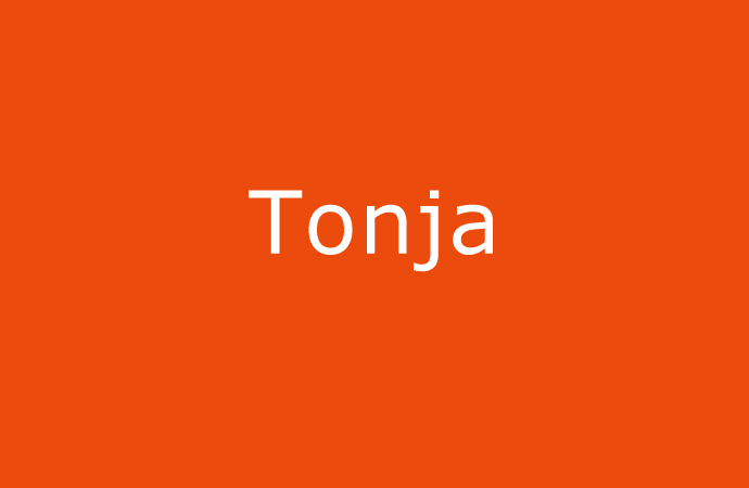 Herkunft und Bedeutung des Namen Tonja