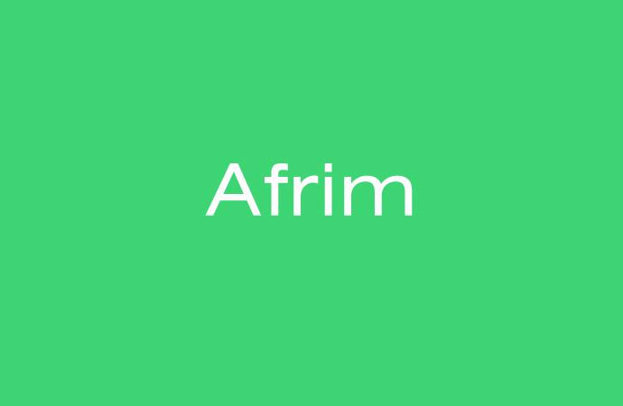 Bedeutung und Herkunft des Namen Afrim