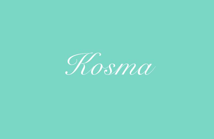Die Bedeutung und Herkunft des Namens Kosma