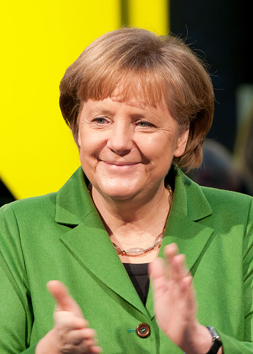 Biografie über Angela Merkel