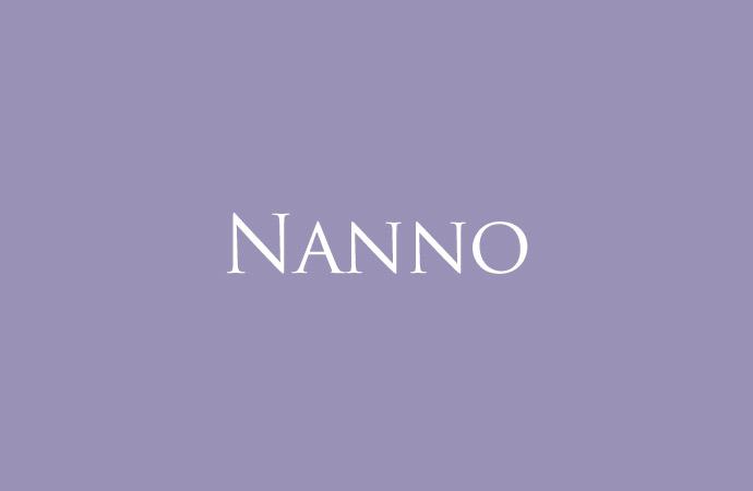 Der Name Nanno