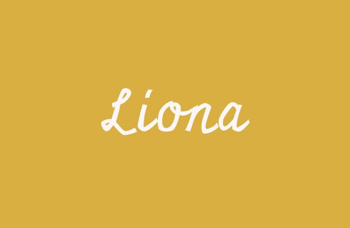 Liona- Der Mädchenname