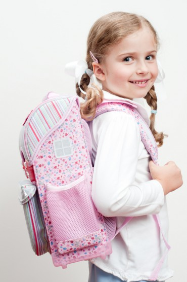 Zum ersten Mal Schule