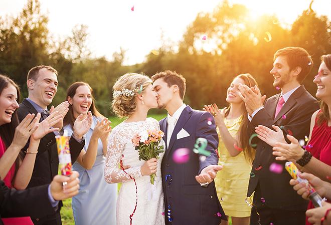 Sprüche und Glückwünsche zur Hochzeit